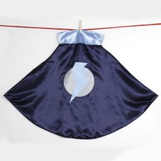 Lightning Leader Cape Blue now featured on Fab.Little Hero Capes