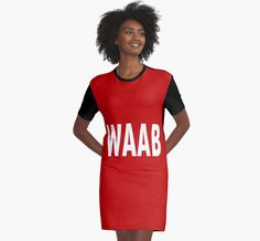 WAAB by NowAndForever WAAB by NowAndForever This is cute for school outfits and for teens of all ages. Check it out and help it trend on my redbubble page at NowAndForever