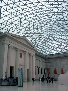 Great Court, British Museum, London One of the most amazing interior spaces in the world.
