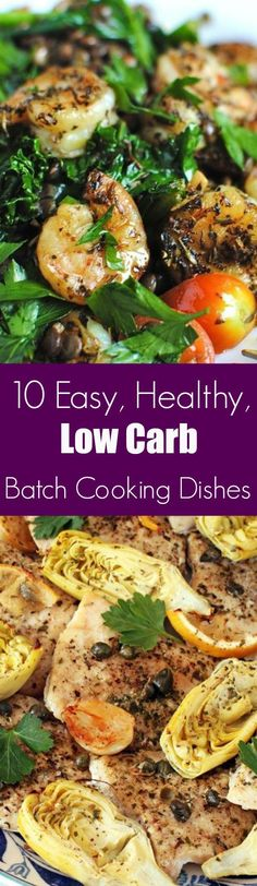 BATCH COOKING DISHES FOR YOUR LOW CARB DIET | www.4hourbodygirl.com