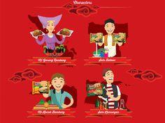 Indomie - Jelajah Kuliner Indonesia on Behance