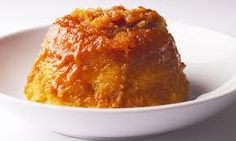 Nigel Slater's classic golden syrup sponge pudding. More reminders of school dinners along time ago.