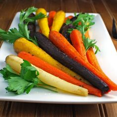 Mother Nature did the hard part. Roasted carrots are so sweet and delicious. Save a special place at your table for simple food.