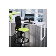 bureau droit professionnel 160x80 cm coloris blanc chaise de bureau chez fly meuble de bureau occasion