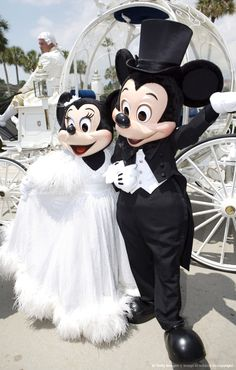Mickey and Minnie, Wedding