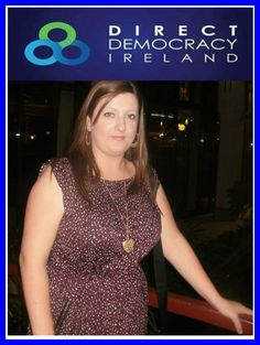Hi, I'm Steffi Healy, you're Direct Democracy Ireland, candidate for Longford / Westmeath