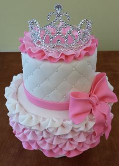 Even though I'm not a fan of Fondant, this cake is a work of art Cake Blog: Princess Cake Tutorial
