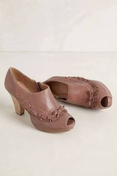 Ruffled Shooties from anthropology