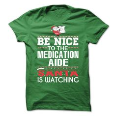Medication Aide Perfect Xmas T-Shirts, Hoodies. BUY IT NOW ==► https://www.sunfrog.com//Medication-Aide-Perfect-Xmas-Gift.html?id=41382