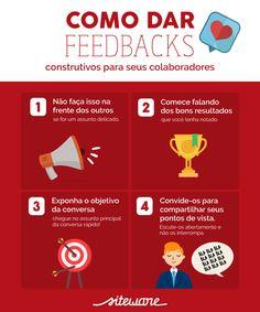 Como dar feedbacks construtivos para seus funcionários