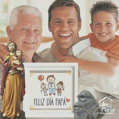 A los papás se les dedica un día en el año, pero ellos dan todos los días para los suyos,un papá es ante todo un hombre con corazón, que sabe señalar el horizonte con optimismo y confianza.  ¡Feliz #DíaDelPadre! les desea el Taller de Marta.Dios los bendiga.