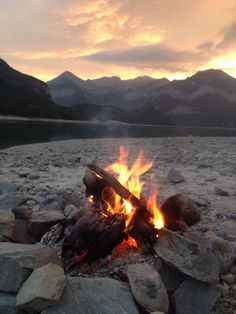Michelle Eady ( (who, with her husband, is crossing from Ontario to Alaska on their honeymoon, kayaking along the way) found this gorgeous campsite outside of Calgary after a day of kayaking. Snow Lake, Love The Earth, Mountain Hiking, Mountain High, The Mountains Are Calling, Nature Adventure, Summer Bucket Lists, Outdoor Woman, Adventure Is Out There