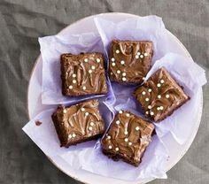 Mokkapalat, mokkaruudut, suklaapalat, suklaapelti – rakkaalla leivonnaisella on… Chocolate Squares, Chocolate Brownies, No Bake Desserts, Margarita, Muffin, Cooking Recipes, Pudding, Favorite Recipes, Sweets