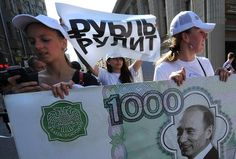 Russia's Central Bank on Monday cut its key interest by one point to percent as it tried to bolster an economy battered by Western sanctions and lower oil prices.