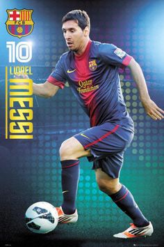Lionel Messi - FC Barcelona Poster from AllPosters.com