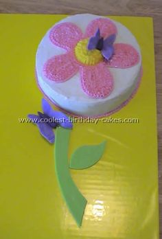 4 year girl birthday cake ideas - Google Search