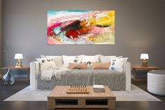 Items similar to Large Painting on Canvas,Original Painting on Canvas,modern wall canvas,abstract originals,huge canvas painting on Etsy Large Abstract Wall Art, Large Canvas Art, Large Painting, Texture Painting, Painting Art, Texture Art, Art Paintings, Abstract Paintings, Knife Painting