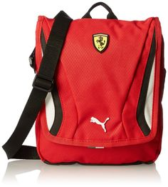 PUMA Men's Ferrari Replica Portable Bag, Rosso Corsa, One Size