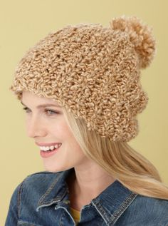 how to make a beanie hat out of yarn
