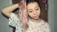 fashion fumblings: unicorn hair: bleach london rose