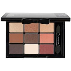 Nyx Professional Makeup Love In Paris Eye Shadow Palette (20 CAD) ❤ liked on Polyvore featuring beauty products, makeup, eye makeup, eyeshadow, highlighting kit and palette eyeshadow