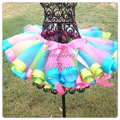 Ribbon Edged Tutu