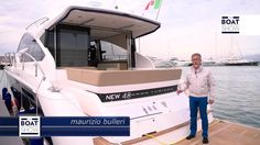 [ENG] FAIRLINE  Targa 48 GT - 4K resolution - The Boat Show