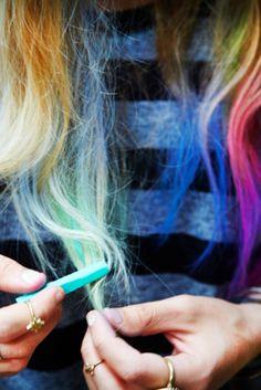 Free People Womens 24 Pack Hair Chalk
