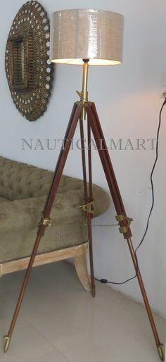 140 Search Light S Royal Lamp Floor Lamp Tripod Lamp By Nauticalmart Ideas Tripod Lamp Floor Lamp Lamp