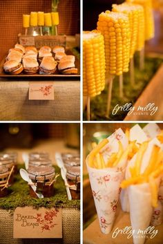 great western theme food entertaining