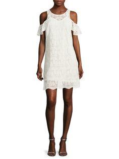 Kendra Lace Shift Dress por Plenty by Tracy Reese Dresses en Gilt