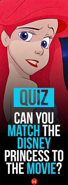 Can you match the Disney princess to the movie she was featured in? Take this quiz and test your skills! Disney Test, Disney Quiz, Disney Facts, Disney Memes, Disney Pixar, Disney Trivia, Movie Trivia, Punk Disney, Trivia Games