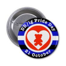 DD/lg Pride Day button badge