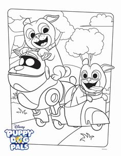 Puppy Dog Pals Coloring Page . Puppy Dog Pals Coloring Page . Puppy Dog Pals Coloring Pages to Print Puppy Coloring Pages, Cartoon Coloring Pages, Disney Coloring Pages, Coloring Pages To Print, Free Printable Coloring Pages, Coloring Book Pages, Free Coloring, Coloring Pages For Kids, Kids Coloring
