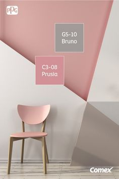 Start your mini remodeling by utilizing our state of mind boards to find house decor inspiration for your Accent Wall Ideas. My New Room, My Room, Girl Room, Room Colors, Wall Colors, House Colors, Bedroom Wall, Bedroom Decor, Creative Walls
