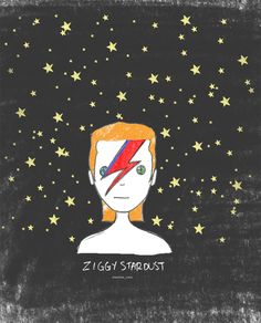 David Bowie illustration