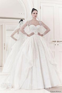 zuhair-murad-wedding-dresses-spring-2014-bridal-sarina-strapless-ball-gown.jpg (600×900)