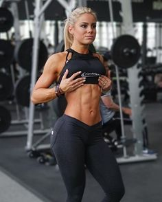 Workout Girls with Perfect Abs and Body