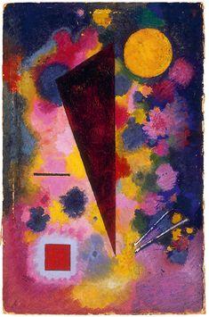 Wassily Kandinsky Bunter Mitklang, 1928, Öl auf Karton (© VG Bild-Kunst, Bonn, 2013)