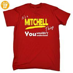 Its A Surname Thing  Jungen T-Shirt, Slogan Gr. Medium, Rot - Rot - Shirts mit spruch (*Partner-Link)