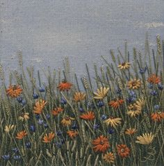 Jo Butcher, Embroidery Artist - Flower Meadow