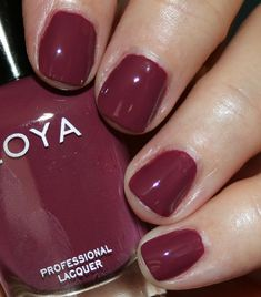 Zoya Nail Polish, Nails, Fall 2018, Nail Ideas, Nail Colors, Eye Makeup, Fashion Beauty, Nail Art, Pretty