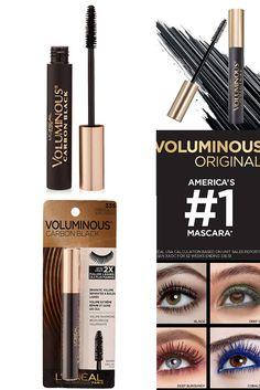 Mascara, Eyeliner, Eyeshadow, Carbon Black, Gaines, L'oréal Paris, Deep, Eye Make Up, Covergirl