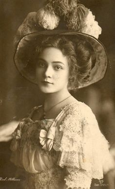 edwardian gibson girl - Google Search