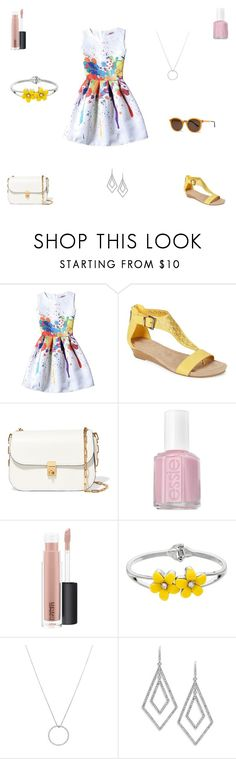 """Untitled #709"" by maddieisurs ❤ liked on Polyvore featuring Kenneth Cole Reaction, Valentino, Essie, MAC Cosmetics, Roberto Coin, ABS by Allen Schwartz and Thierry Lasry"