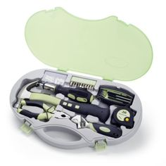 Hey Pinners! Love this cute set of tools. Imagine this for simple project around the home. #home_improvement #featheryournest  6 Piece Compact Bella Tool Kit http://www.plainandsimpledeals.com/prod.php?node=50289&Title=Picnic_Time_6_Piece_Compact_Bella_Tool_Kit_#704-00-130 Pin it! :) Follow us :)) Plainandsimpledeals.com is your Shopping Deals Gallery ;) CLICK IMAGE TWICE for Pricing and Info :) SEE A LARGER SELECTION of home goods