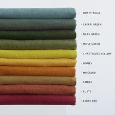 Natural Linen Pillow Cover With Zipper, Zippered Linen Pillowcases, Linen Pillow Shams Linen Couch, Linen Duvet, Linen Curtains, Linen Tablecloth, Linen Pillows, Linen Fabric, Linen Napkins, Napkins Set, Teal Fabric