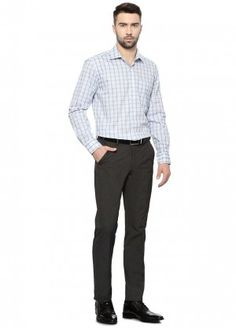 Pant shirt color combination in checks