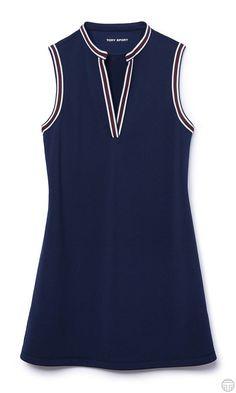 Tory Sport Sleeveless Tunic Dress