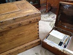 Olive Tree Genealogy Blog: Passing on Your Family Genealogy Treasures to a Descendant